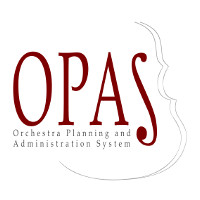 OPAS Orchestermanagement Software Logo