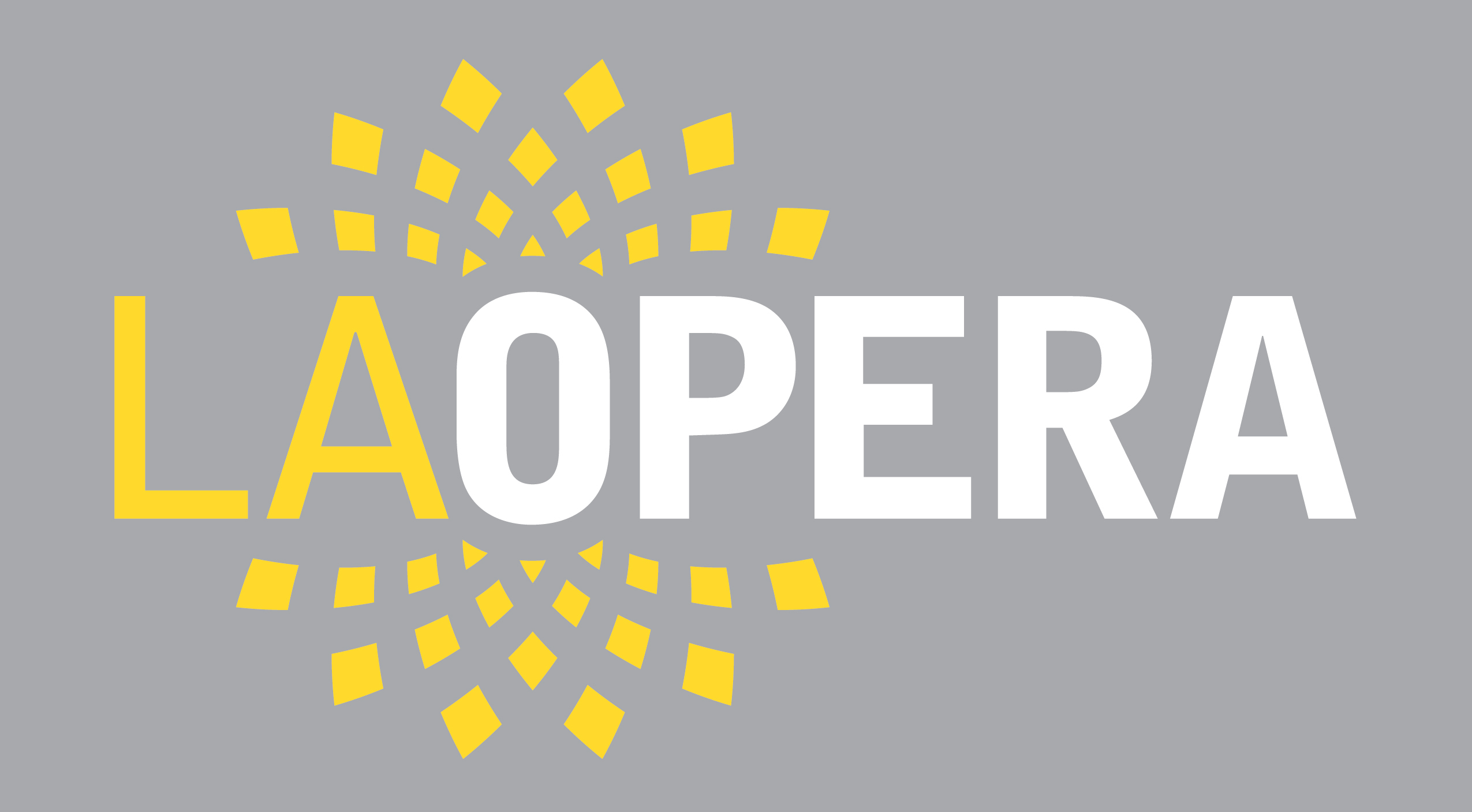LOGO of LA OPERA Orchester working with OPAS